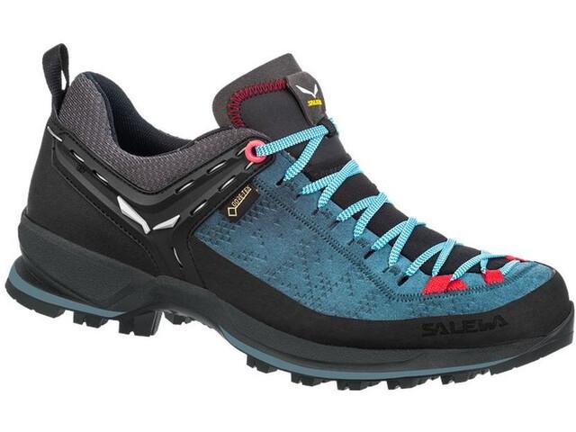 SALEWA MTN Trainer 2 GTX Shoes Women, dark denim/fluo coral